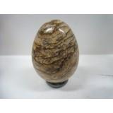 Egg in Picture Jasper 40x50mm