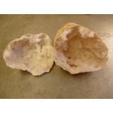 Quartz Geode XL  30x30 cm PAIR