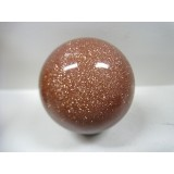 Sphere in Goldstone 50mm