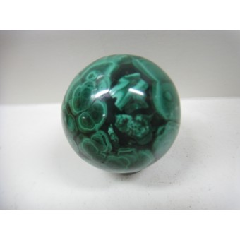 Sphere in Malachite 45mm