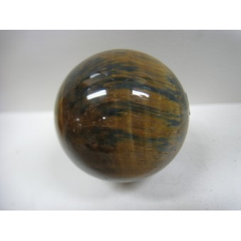 Sphere in Blue/Gold Tiger Eye 50mm