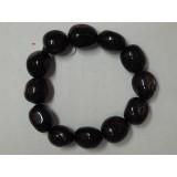 Hypersthene Tumble Stone Bracelet - 14mm