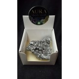 Aura Quartz box - Silver