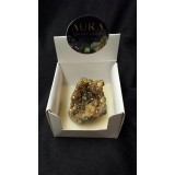 Aura Quartz box - Gold - 5cm