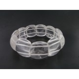 Quartz Bracelet Two Hole 22mm Wide