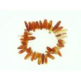 Carnelian Long Chip Bracelet
