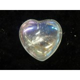 Rainbow Aura Quartz 30mm  x 35mm (Width) x 15mm (Thickness)