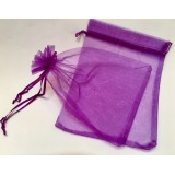 Organza Pouch 50 Pack - Magenta - Large