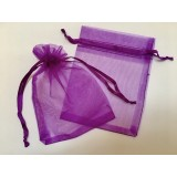 Organza Pouch 50 Pack - Magenta - Small