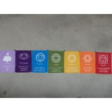 Chakra Flags Large 29x21cm