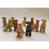 Soapstone Carving - Dinosaur TRex - various colours