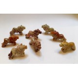 Soapstone Carving - Lion - various colours