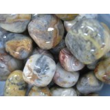 Agate - Crazy Lace - Tumbled  20x30mm    200 GRAMS