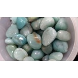 Amazonite - China - Tumbled  20x30mm    200 GRAMS