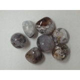 Agate - Dentritic - Tumbled  20x30mm    200 GRAMS