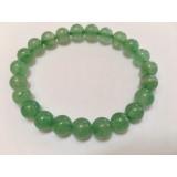Aventurine  Green round Stone Bracelet 8mm