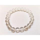 Clear Quartz round Stone Bracelet 8mm