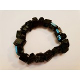 Black Tourmaline Natural Crystal Bracelet 10mm