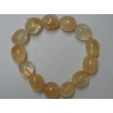 Citrine Tumble Stone Bracelet 14mm