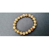Golden Rutile Round Bracelet - 7-8mm