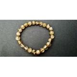 Golden Rutile Round Bracelet - 6-7mm