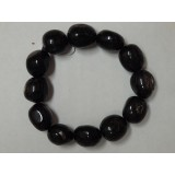 Hypersthene Tumble Stone Bracelet - 14mm
