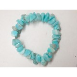 Amazonite Large Chip Bracelet