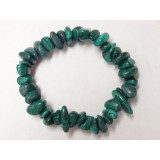 Malachite Large Chip Bracelet