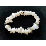 Rainbow Moonstone Large Chip Bracelet