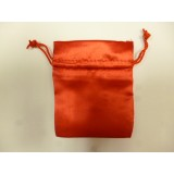 Satin Pouch – Red  -  120mm x 140mm – Pack of 50